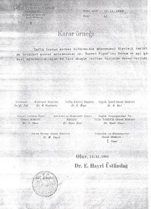 22.11.1950 terfi