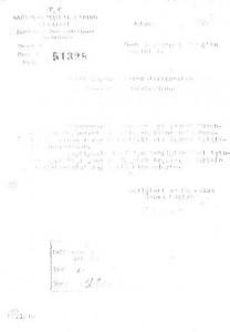 9 kasım 1959 Tayin-devamı