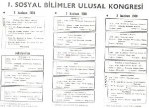 I.SOSYAL BİLİMLER ULUSAL KONGRESİ-TIP SOSYOLOJİSİ VE NUSRET FİŞEK-broşür