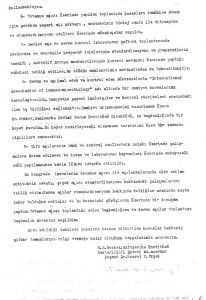 III.Milletlerarası Serum ve Aşı Standardizasyonu Kongresi Hakında Rapor*3