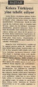 Kolera Türkiye'yi Yine Tehdit Ediyor-syf1