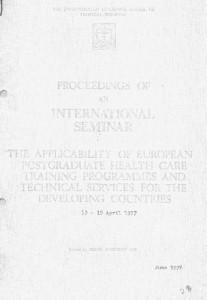 Proceedings of an ınternatıonal semınar-kapak