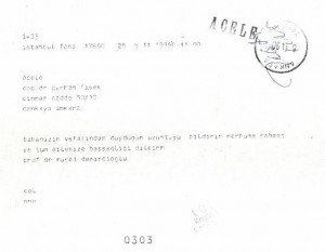 Prof.Dr.Murat Demircioğlu.telgraf