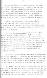 RESEARCH PLAN 1973 SURVEY OF POPULATION PROBLEMS IN TURKEY-syf17