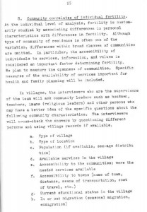 RESEARCH PLAN 1973 SURVEY OF POPULATION PROBLEMS IN TURKEY-syf25