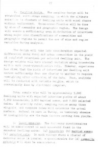 RESEARCH PLAN 1973 SURVEY OF POPULATION PROBLEMS IN TURKEY-syf27