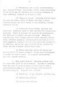 RESEARCH PLAN 1973 SURVEY OF POPULATION PROBLEMS IN TURKEY-syf29