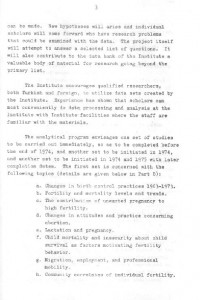 RESEARCH PLAN 1973 SURVEY OF POPULATION PROBLEMS IN TURKEY-syf3