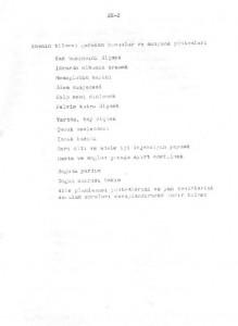 Sağlık ve Sosyal Yardım Bakanlığı Ana Çocuk Sağlığı Hizmetlerini Geliştirme Program Tasarısı 1972-1978-EK-2