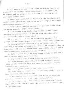 Sağlık ve Sosyal Yardım Bakanlığı Ana Çocuk Sağlığı Hizmetlerini Geliştirme Program Tasarısı 1972-1978-sayfa10