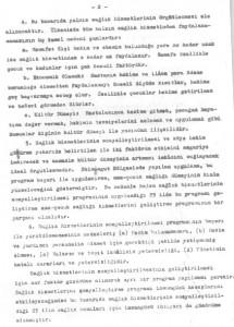 Sağlık ve Sosyal Yardım Bakanlığı Ana Çocuk Sağlığı Hizmetlerini Geliştirme Program Tasarısı 1972-1978-sayfa2