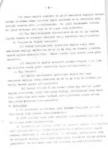 Sağlık ve Sosyal Yardım Bakanlığı Ana Çocuk Sağlığı Hizmetlerini Geliştirme Program Tasarısı 1972-1978-sayfa9