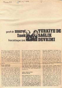 Türkiye'de Sağlık Devrimi
