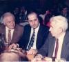 Dr. Arif Atlı ve Dr. Şükrü Güner ile İstanbul Tabip Odası Yemeği'nde (19.03.1989, İstanbul)