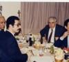 Prof.Dr.Atalay Yörükoğlu, Prof.Dr.Ragıp Çam, Dt. Hüsnü Çuhadar ile (TTB Merkez Konseyi üyeleri, 14 Mart 1986)