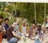 Vural Bertan, Doğan Benli, Nevzat Eren ve İş Arkadaşları ile (Çubuk II Barajı, Temmuz 1976)