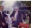 Konya Tabip Odası Başkanı Dr. Sabahattin Bey ile (15 Ekim 1987 Konya-Meram)