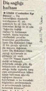 sağlık gazete söz